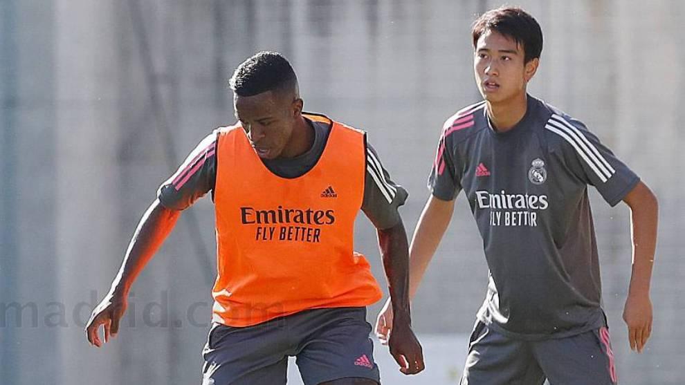 Pipi and Vinicius.