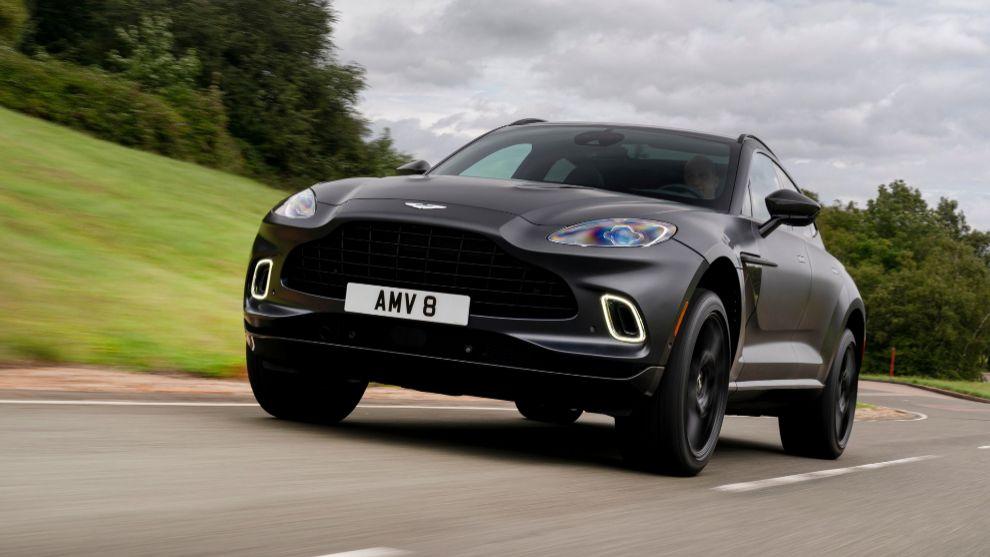 Prueba del Aston Martin DBX