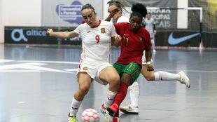 España y Portugal empatan a tres en el partido amistoso de...