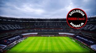 El Estadio Azteca abriría sus puertas para el América vs Tigres |