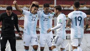 El VAR valida el gol de Correa
