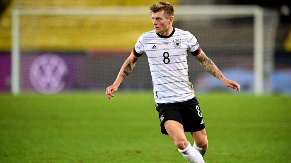 Toni Kroos completó un gran partido ante Suiza a pesar de no lograr la victoria con su selección