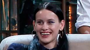 La Resistencia: Milena Smit sonríe en un momento del programa de...