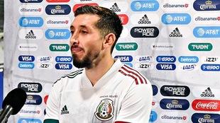 Héctor Herrera admitió que jugar en el Tri es tener oportunidad.