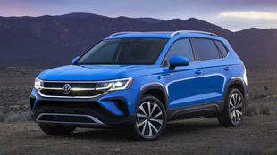 El Volkswagen Taos es más pequeño que un Tiguan y más grande que un...