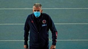 Carlos Queiroz, durante el partido ante Chile.