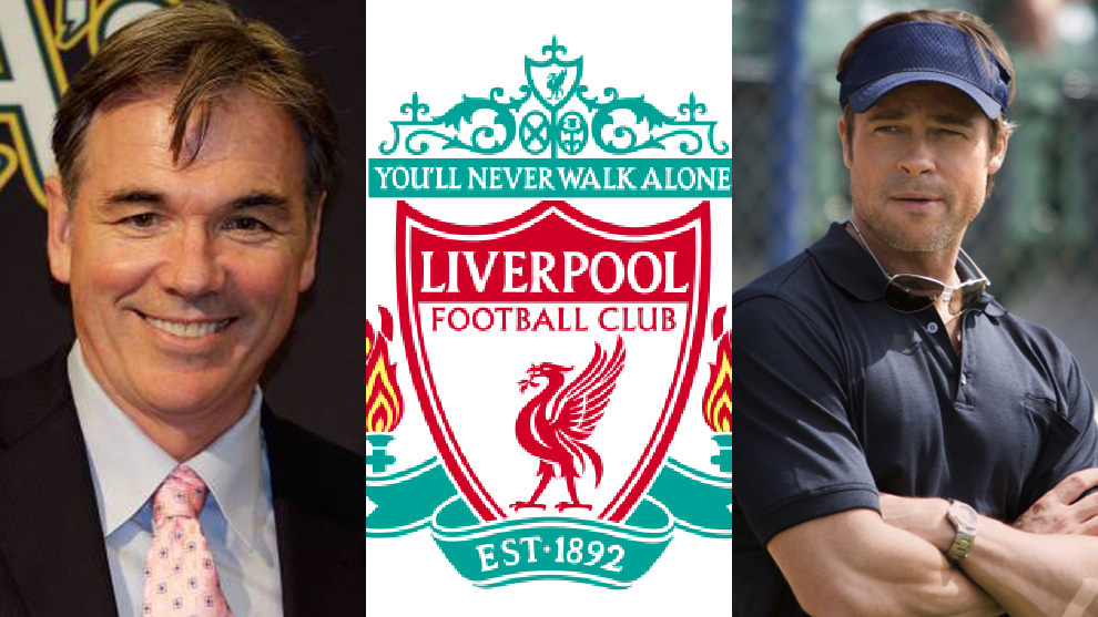 El Liverpool apuesta por el 'Moneyball' y el Brad Pitt del béisbol