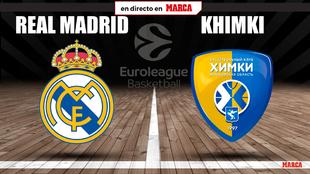 Real Madrid - Khimki: horario y dónde ver en TV hoy el partido de la...