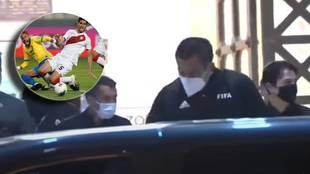 Tensión en el Perú-Brasil: le dicen de todo al árbitro por el penalti pitado a Neymar