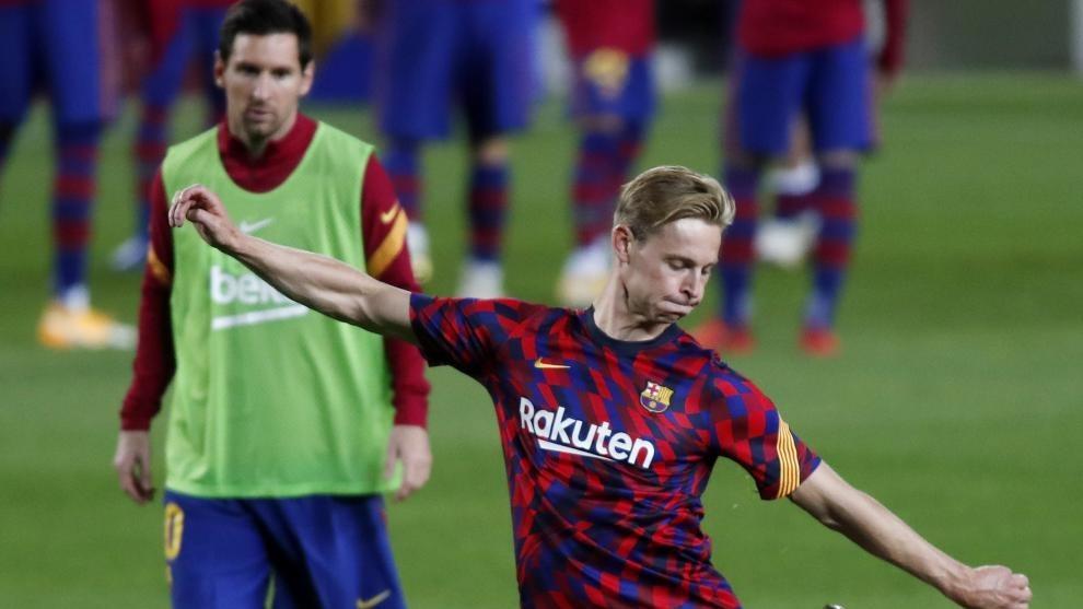 De Jong and Messi