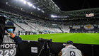 Panorámica del Juventus Stadium antes del partido.