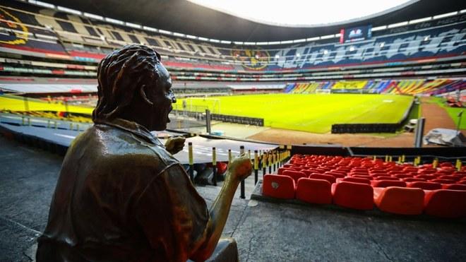 Estadio Azteca seguirá sin aficionados, aseguró el club — América