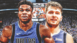 Antetokounmpo y Luka Doncic Dallas Mavericks