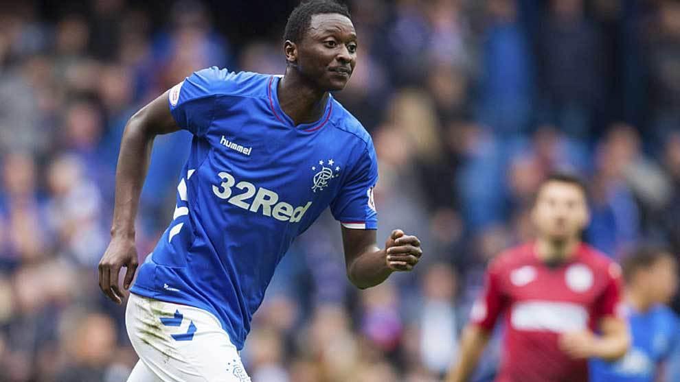 Umar Sadiq, en su etapa como jugador del Ranger escocés.