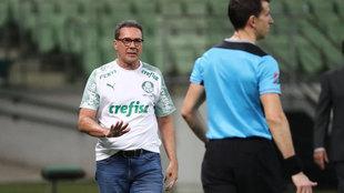 Luxemburgo, con Palmeiras.