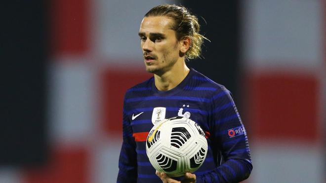Antoine Griezmann es infalible con Francia, pero no con el Barcelona.