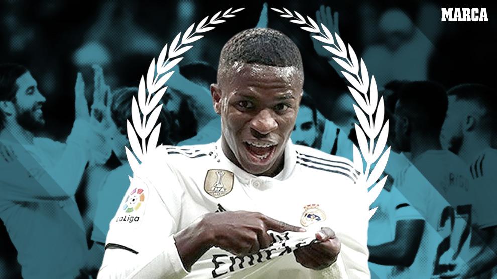 Vinícius Jr, el nuevo talismán del Real Madrid