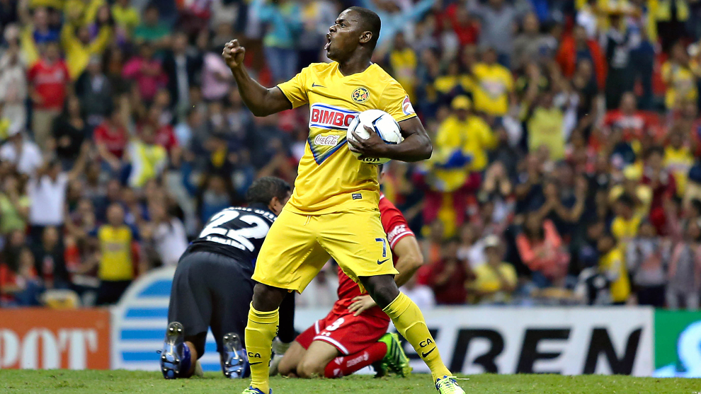 Narciso Mina volverá a jugar en México, ahora con el Neza FC. |