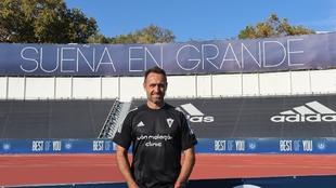 José Manuel Aira (44) posa en el Lorenzo Cuevas para el reportaje en...
