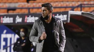 Alex Diego lamentó los errores de sus jugadores.