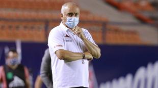 Memo Vázquez destacó el funcionamiento de su equipo.
