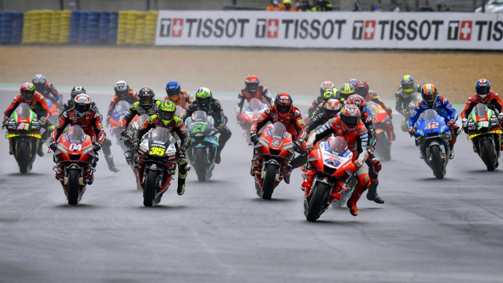 Horario y donde ver en TV y online el Gran Premio de Aragon de MotoGP,...