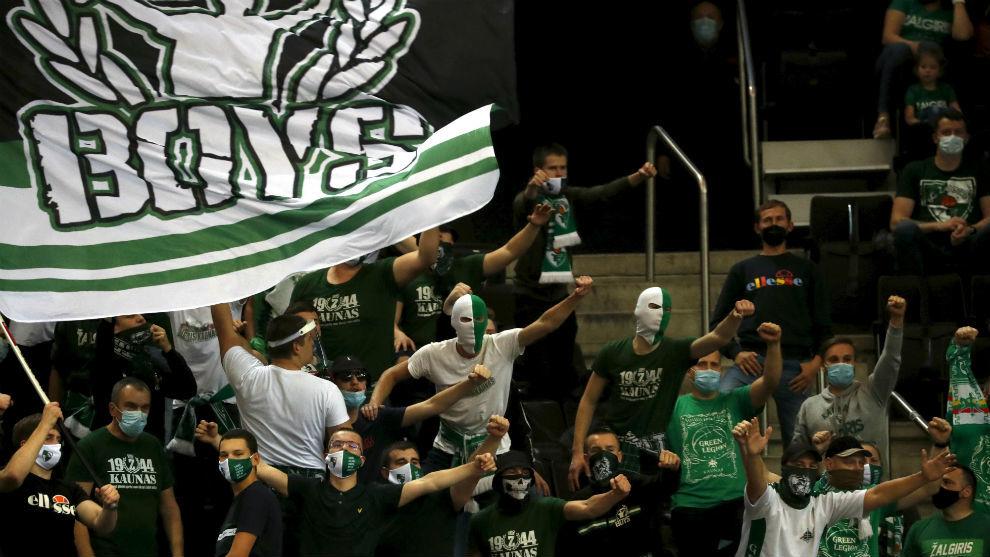 Malestar en la Euroliga: el Zalgiris tuvo 5.000 aficionados en su pabellón