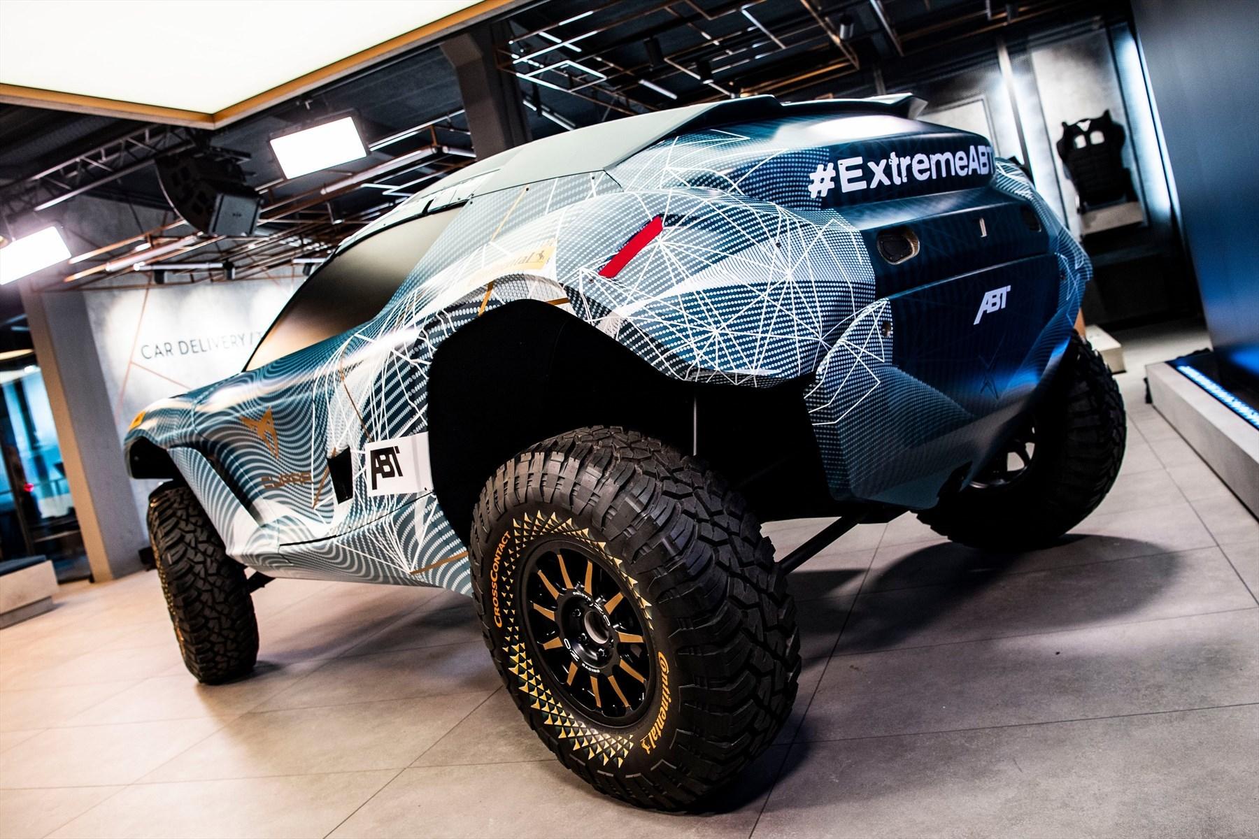Continental, proveedor único de neumáticos del campeonato Extreme E