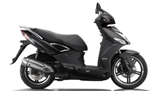 La Kymco Agility City 125 es la moto más vendida en España.