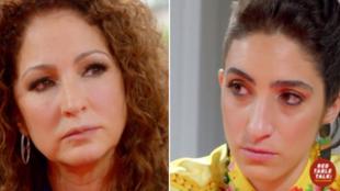 Gloria Estefan y su hija Emely en Red table talk The Estefans de...