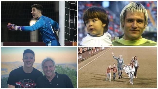 Zidane convoca al hijo de Cañizares... ¡y Sergio Ramos, compañero de ambos!