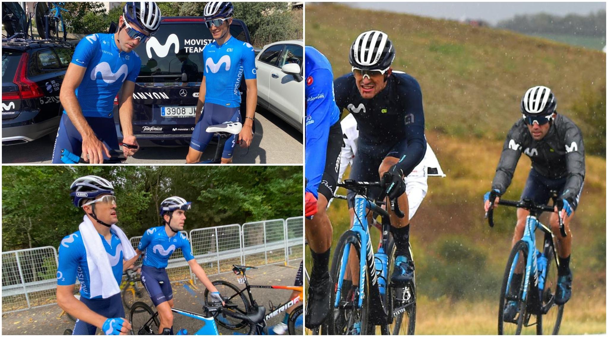 """Pedrero y Samitier, la dupla que da cobertura a Movistar en el Giro: """"Hacerse 'un Pereiro' sería la bomba"""""""