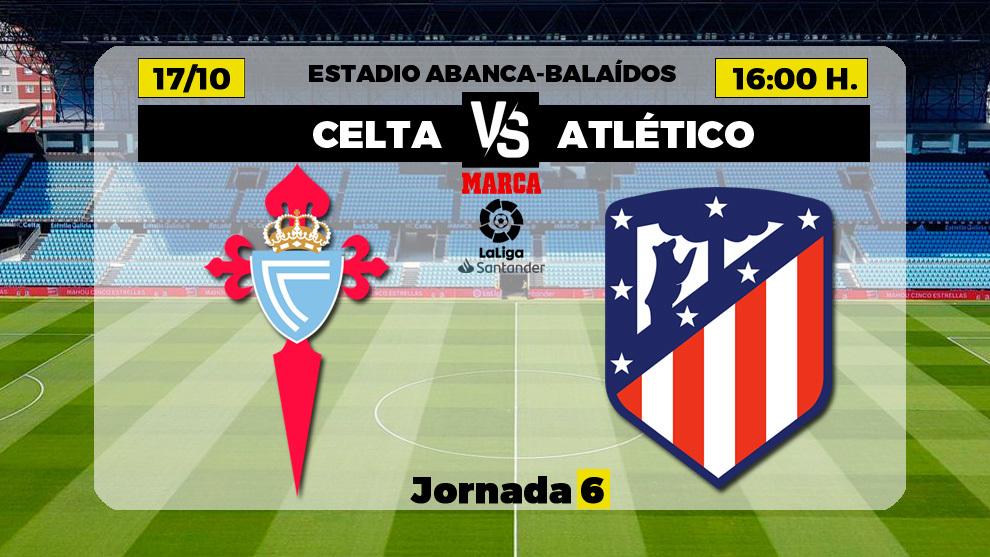 Celta  - Atlético: Luis Suárez y Diego Costa, de inicio