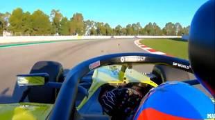 El test íntegro de Fernando Alonso en su vuelta a la F1