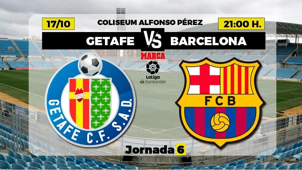 Getafe vs Barcelone