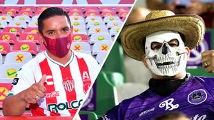 Necaxa y Mazatlán recibieron a su afición en sus estadios para la...