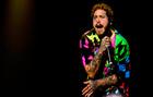 En la imagen, el cantante estadounidense Post Malone.