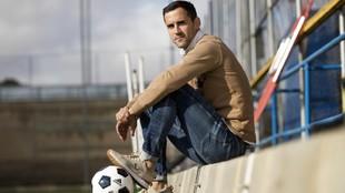 Miguel Linares posa para MARCA.