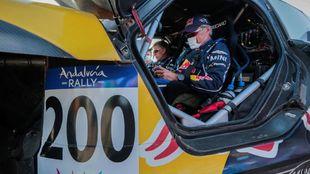 Carlos Sainz, optimista de cara al Dakar 2021.