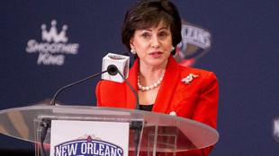 Gayle Benson, dueña de los Pelicans