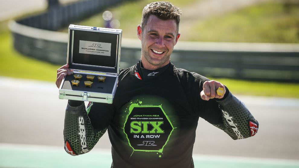 Rea gana de calle su sexto título en Superbike