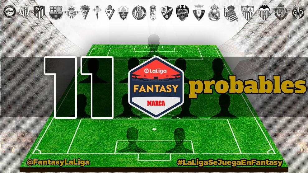 Alineaciones probables de Primera Division para la jornada 7 de LaLiga
