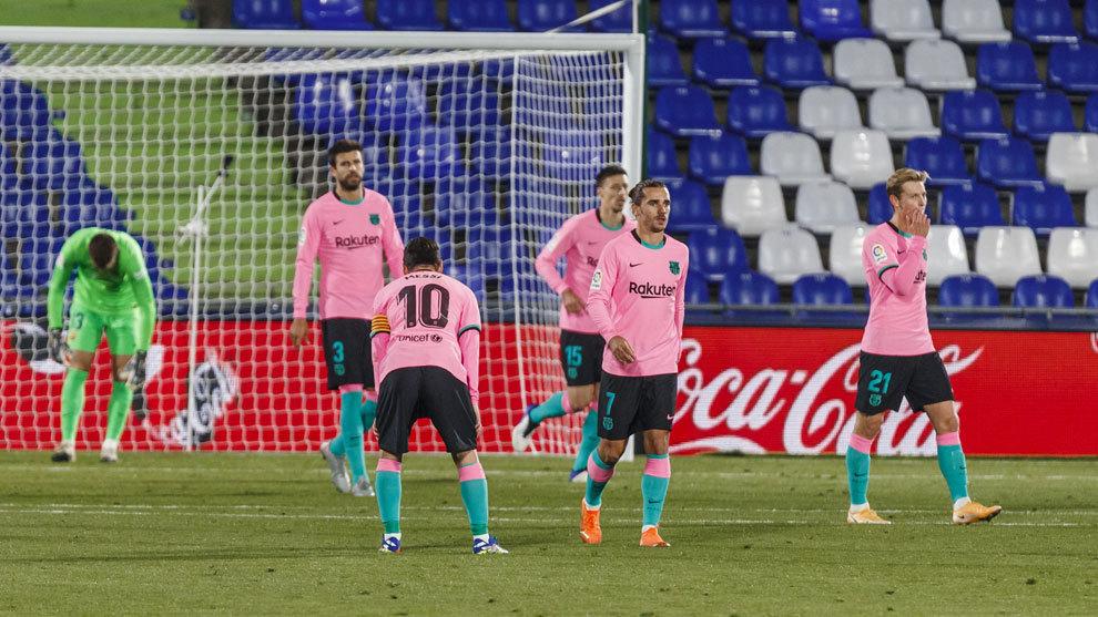 La vida del Barça tampoco es de color de rosa