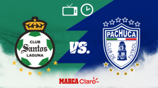 Santos vs Pachuca en vivo: Horario y dónde ver.