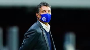 Robert Dante Siboldi, director técnico de Cruz Azul