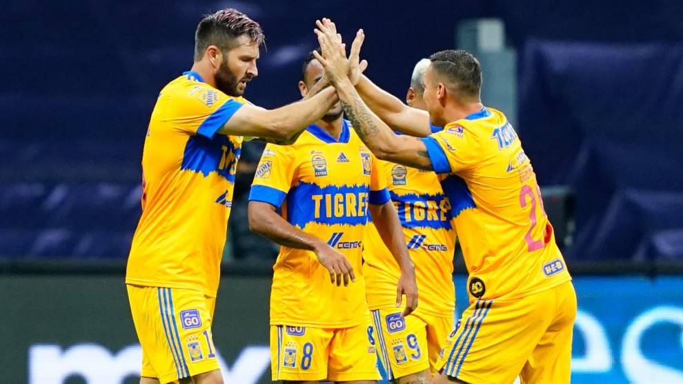 Los Tigres registran cinco triunfos al hilo y sin recibir gol
