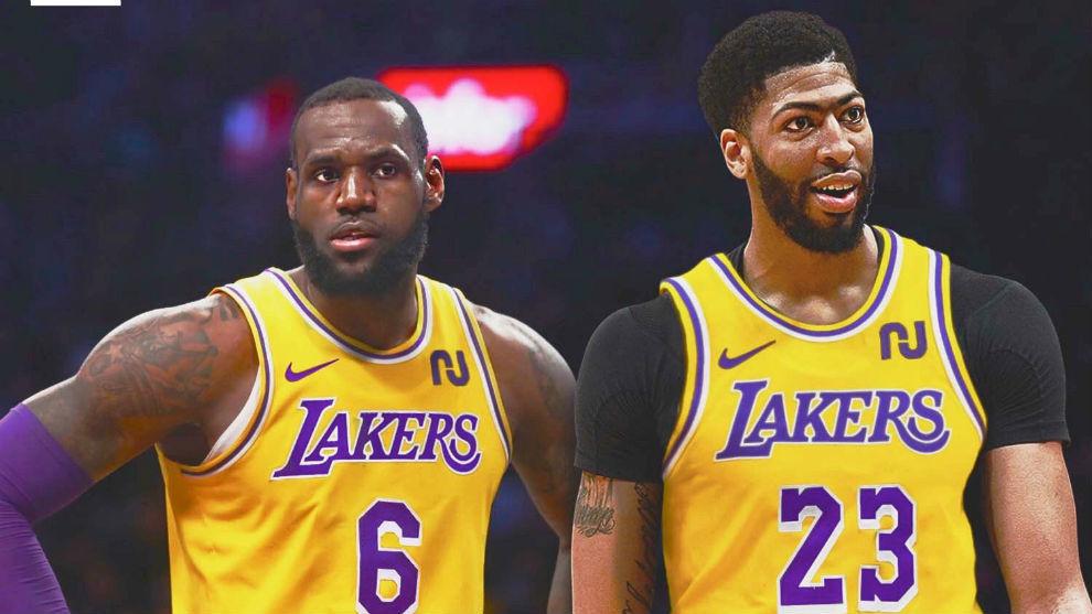 Tras acordarlo con Nike, LeBron volverá al número 6 y cederá el 23 a Anthony Davis