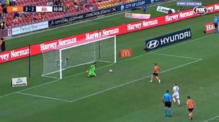 El penalti a lo Panenka que no se ha visto en ninguna liga del mundo: ¿cómo hace eso?