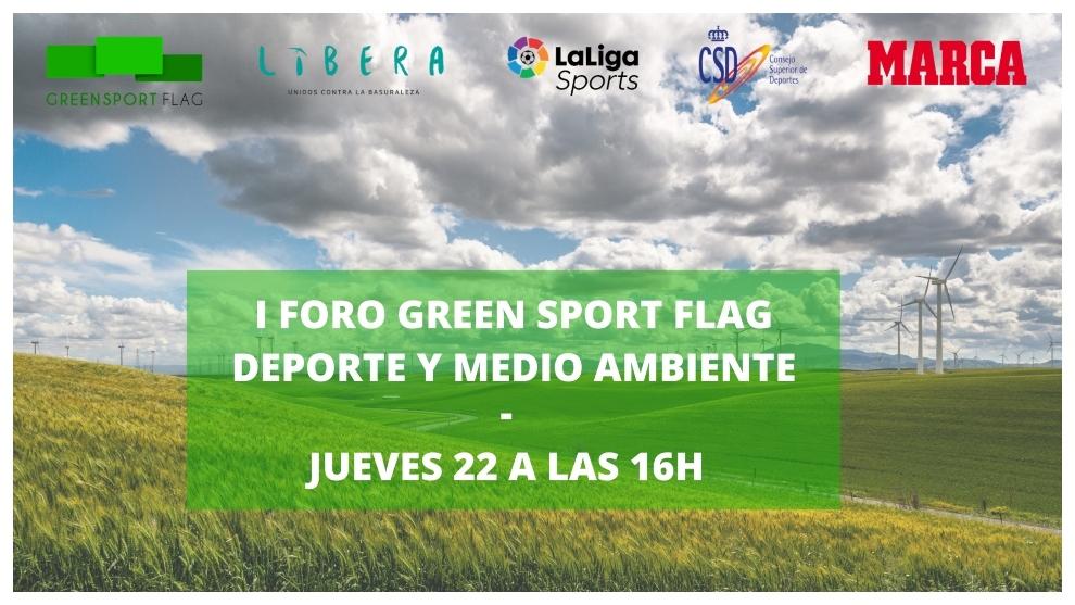 Llega el I foro Green Sport Flag: Deporte y Medio Ambiente buscan mejorar nuestro entorno