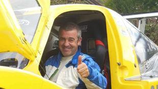 Iñaki Irigoien es el piloto fallecido hoy en Azpeitia.